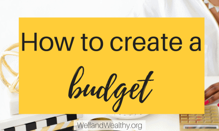 How to create a budget: Part 3 of Money Management Series