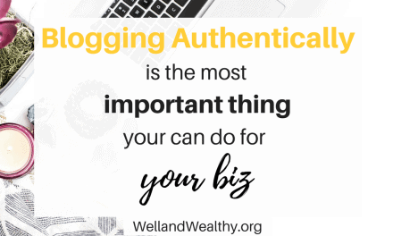 Why Blogging Authentically Is The Most Important Thing!