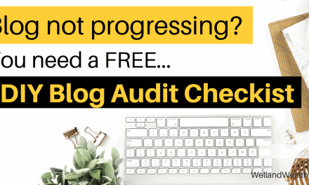 Do It Yourself Blog Audit Checklist