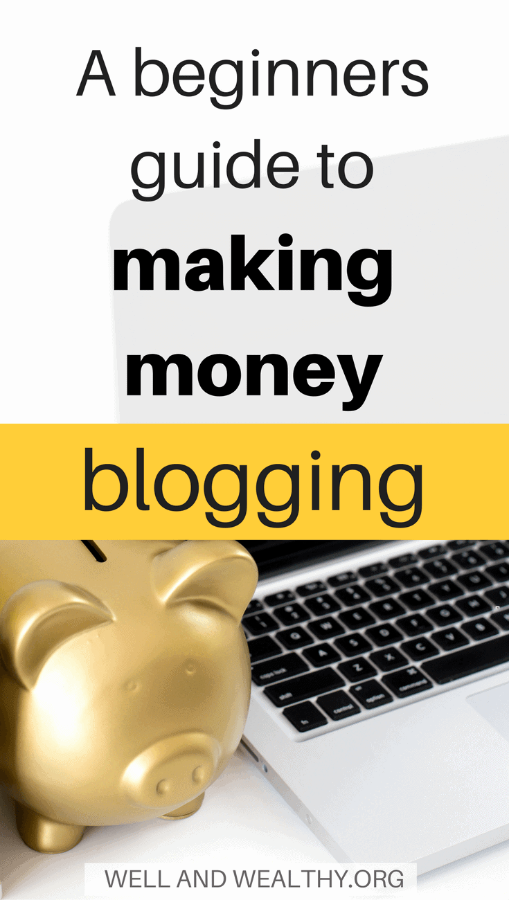 Did you know that you can actually make money blogging, enough money to earn a full time income or more! All is explained in this beginners guide! | Make money blogging | How to make money blogging | How do bloggers make money | How to make blogging your full time job | How to make money as a stay at home mom | How to make money as a SAHM | How to monetise your blog | Make money from ads on your blog | Make money from affiliated marketing | Sell your own digital products and make money blogging | Make money blogging by selling services | Make money with sponsored posts |