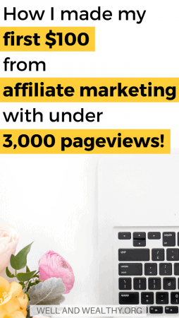 Today I'm talking about affiliated marketing for beginners, the number one way to make passive income blogging, and how I made my very first $100 from affiliated marketing on my blog. You can easily start affiliated marketing for free and getting started in affiliate marketing is an easy step by step process. In fact you can even start affiliate marketing without a website for free on Pinterest or Facebook.