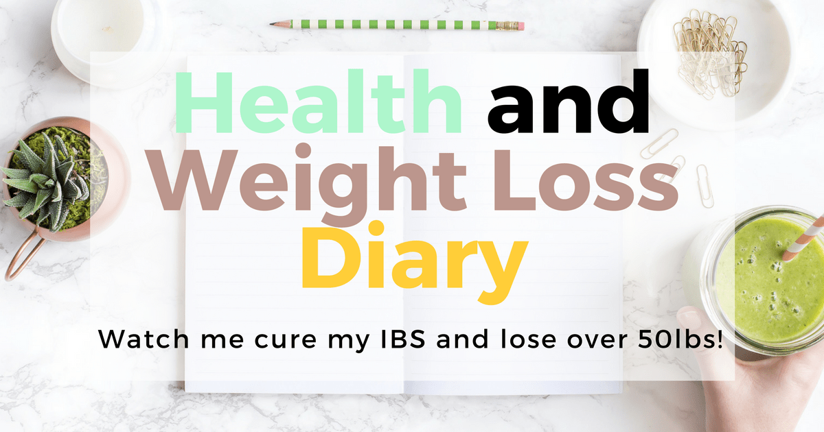 My plan: Cure my IBS and lose over 50lbs! I'm going to do it, just watch me... Find out how I'm curing my IBS, my other chronic health conditions and losing over 50lbs here!