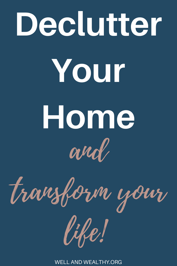 When I decluttered my home the effect was incredible. I instantly felt better, my depression improved and I had more time! So I'm going to show you how to declutter your home and transform your life! I'm now moving towards minimalism and living a more minimalist life because of the benefits. Here is a decluttering plan, with plenty of decluttering tips and ideas to stop you from feeling overwhelmed, and simplify and organise your home. #declutter #decluttering