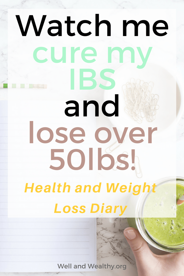 My plan: Cure my IBS and lose over 50lbs! I'm going to do it, just watch me... Find out how I'm curing my IBS, my other chronic health conditions and losing over 50lbs here! Learn how to lose weight and cure your IBS here.