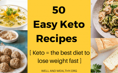 50 Easy Keto Recipes (Keto is the best diet to lose weight fast)