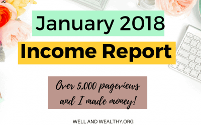 Blog Income Report January 2018: My Eighth Month Blogging