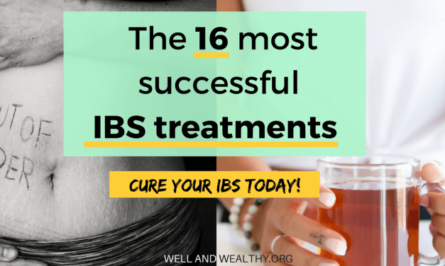 You NEED To Try These 16 IBS Treatments (the most successful natural remedies, diets and medication)
