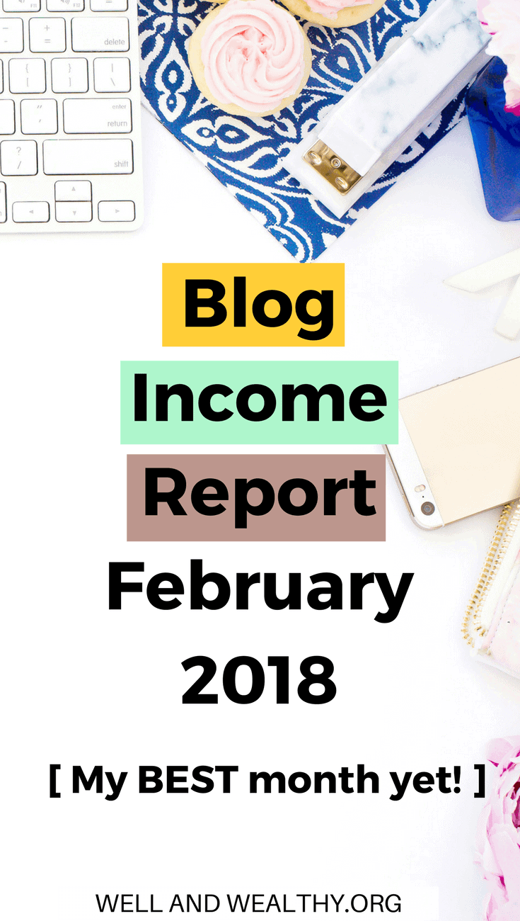 Woo my February 2018 blog income report is published! I spill all the details on how I got two viral posts, more than doubled my traffic in two months and made Amazon affiliate commission (at last)! Find out how I make money online blogging in my blogging income report. I love working from home and know I will be making a full time income blogging soon! So if you want some helpful blogging tips and to learn how to make money blogging for beginners using affiliate income to make that passive income then check out my February 2018 Blogging Income Report. #incomereport #blogincomereport #bloggingtips