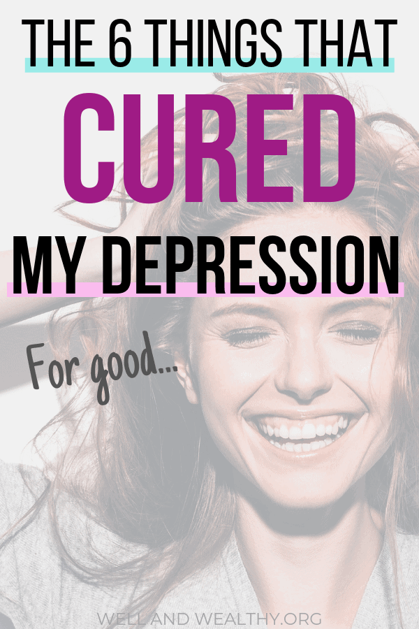 Dealing With Depression_ How I Recovered From Depression For Good!