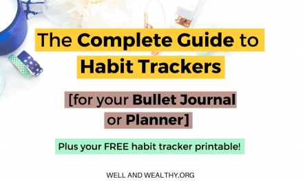 The Complete Guide to Habit Trackers for your Bullet Journal or Planner! (Plus FREE Printable Habit Tracker)