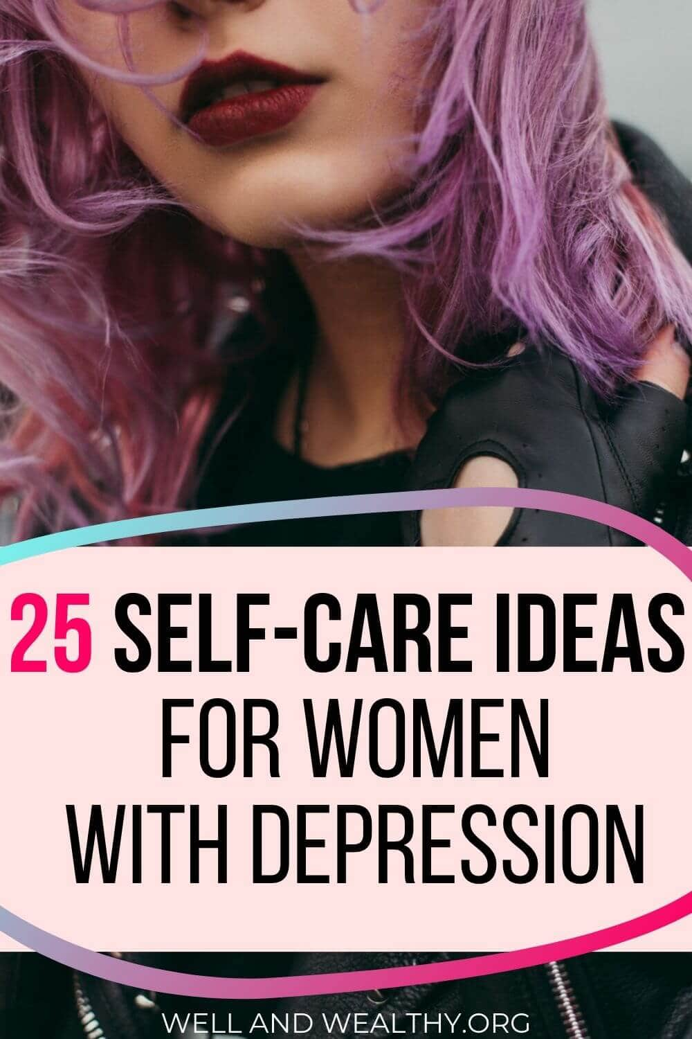 Ever wondered how to use self-care to help mental health? Well this post is full of self-care ideas you won't have heard before so you can banish depression and anxiety with these self-care ideas. Plus grab your FREE printable self-care checklist which will be a game plan for bad mental health days! #selfcare #selfcareideas #selfcaretips All about self-care ideas mental health life, for when you need it most.