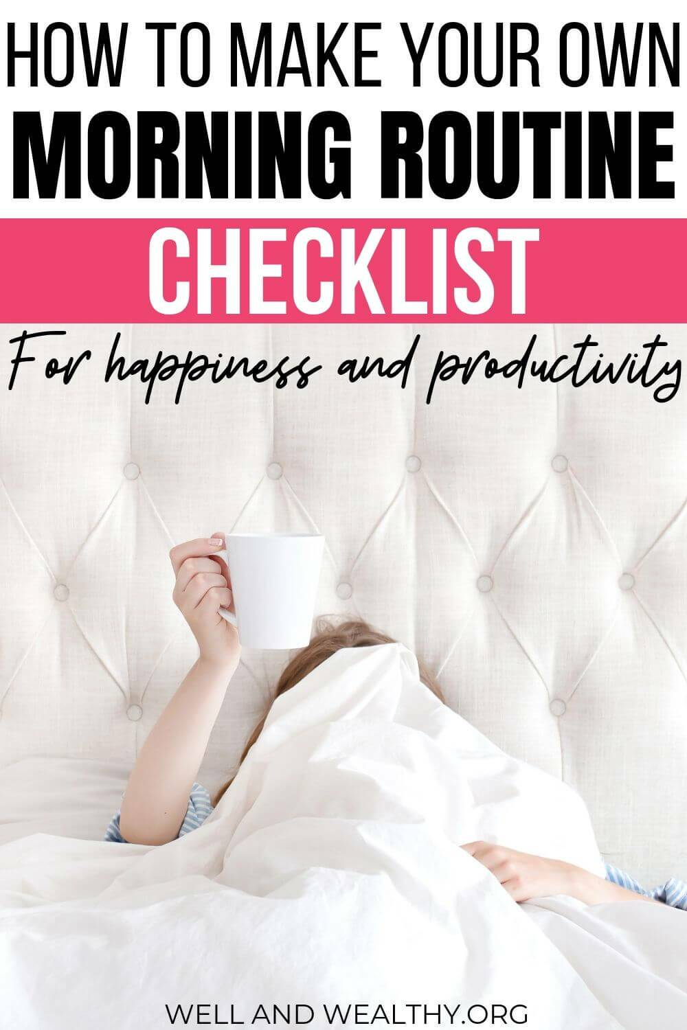 Looking for adult morning routine ideas to help make your life healthy and productive? Then this post will help you, especially for women, you will learn how to make an amazing morning routine checklist. These tips will help you get in that all-important self-care before work. PLUS don't forget to grab your free printable checklist! #morningroutine #freeprintable #getorganized #selfcare